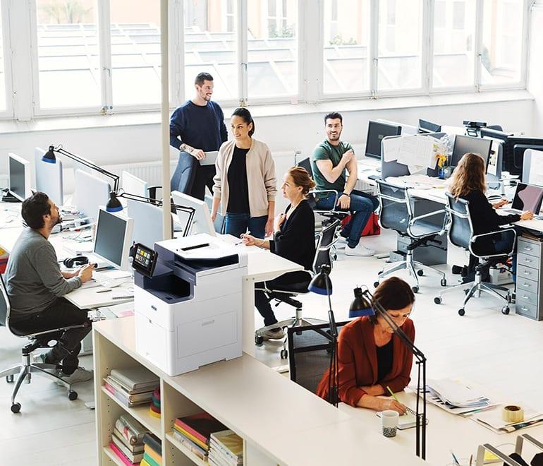 Intelligent Workplace – Managed print