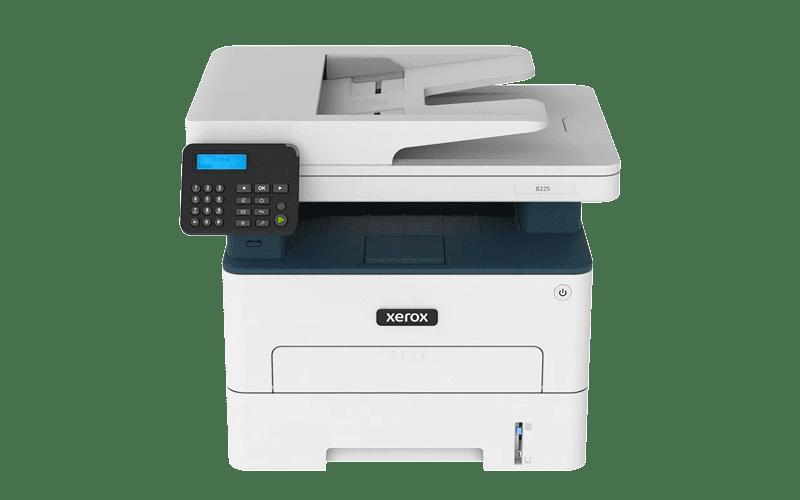 Xerox® B225 Multifunktionsdrucker Vorderansicht